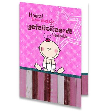 van harte gefeliciteerd geboorte dochter Gefeliciteerd met je dochter   kaarten online sturen van harte gefeliciteerd geboorte dochter