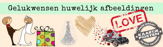 Verwonderlijk Gelukwensen huwelijk, stuur het bruidspaar een kaartje! KV-12
