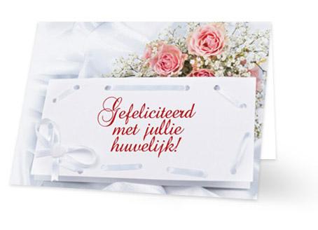 Populair Gelukwensen huwelijk, stuur het bruidspaar een kaartje! #RV29