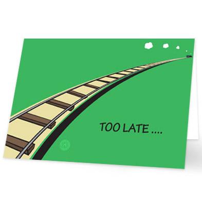 Top Verjaardagskaart te laat - stuur nu een toepasselijke kaart! #PB74