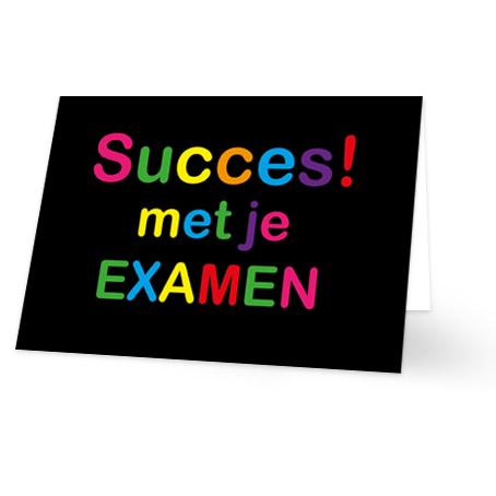 """Résultat de recherche d'images pour """"veel succes met de examens"""""""