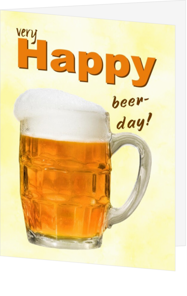 Verjaardagskaarten Man Bier Jb 017051102v Kaartjeposten Nl