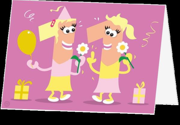 Fonkelnieuw Verjaardagskaart kind 11 jaar meisje maa15073 | Kaartjeposten.nl HT-91