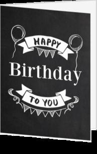 Verjaardagskaart Sturen
