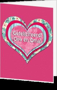Wonderbaar Opa of Oma geworden kaartje | Stuur een kaart | Kaartjeposten.nl BE-76
