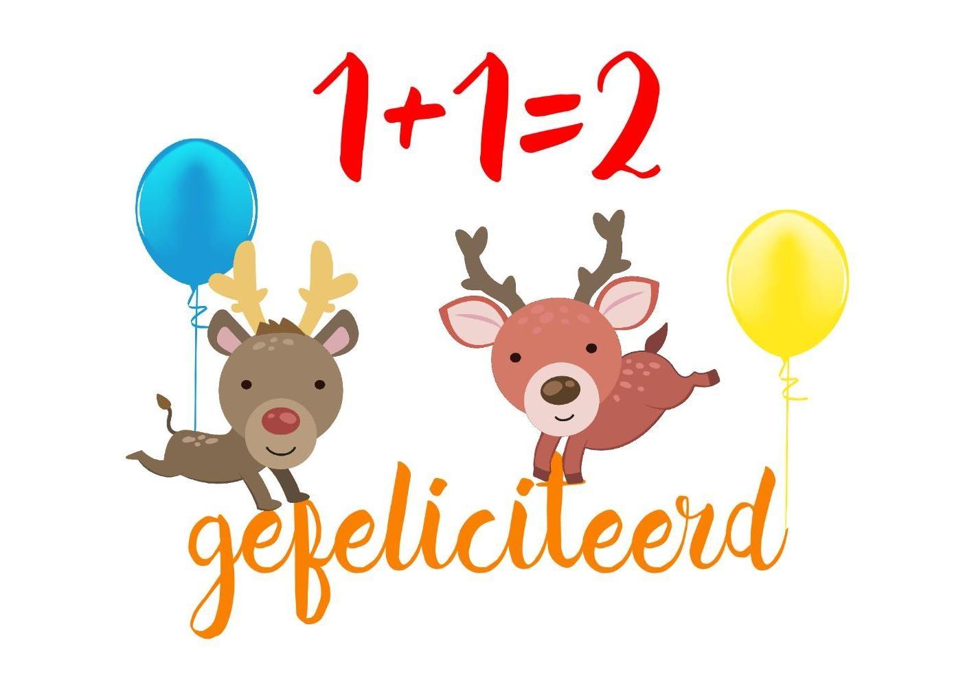 verjaardagskaart kind 2 jaar Verjaardagskaart kind 2 jaar dieren   Kaartjeposten.nl verjaardagskaart kind 2 jaar