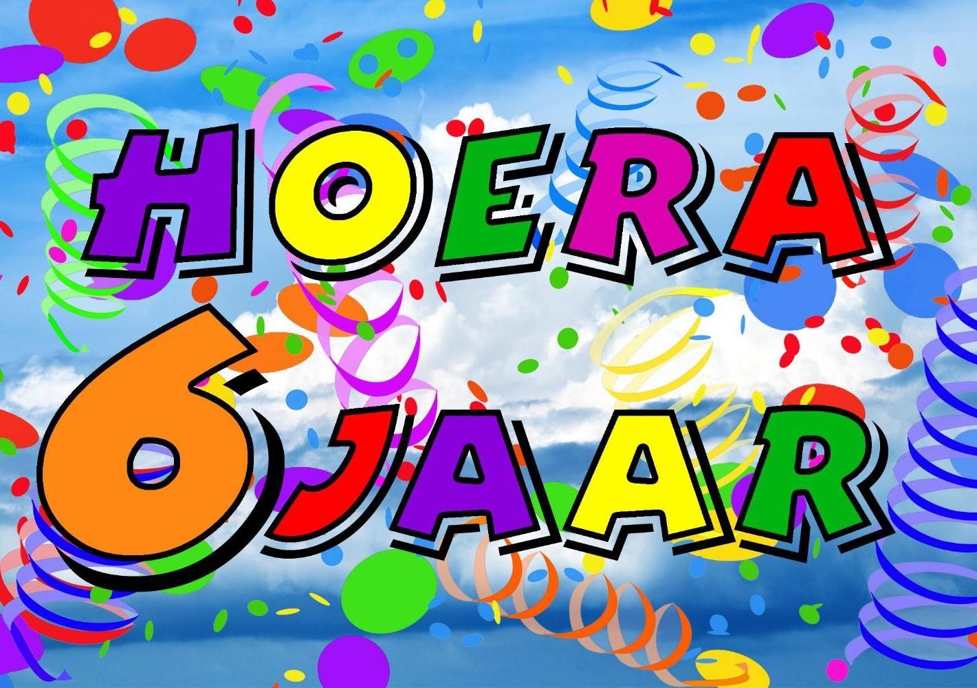 verjaardag 6 jaar Verjaardag 6 Jaar   ARCHIDEV verjaardag 6 jaar