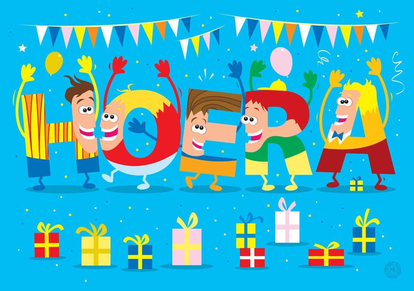 Verjaardagskaart Jongen